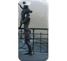 """Fisherman's wife"" in Odessa passenger port iPhone Case/Skin"