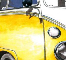 VW Bus Sunshiney day Sticker