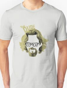 The Dude Abides The Big Lebowski Movie Quote T-Shirt
