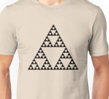Sierpinski Triangle Fractal Math Art Unisex T-Shirt