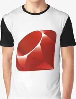 Ruby logo Graphic T-Shirt