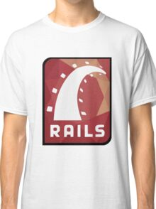 Ruby on Rails logo Classic T-Shirt