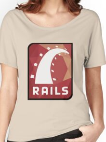 Ruby on Rails logo Women's Relaxed Fit T-Shirt