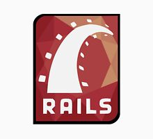 Ruby on Rails logo Unisex T-Shirt