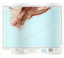 USGS TOPO Map Hawaii HI Hawaii South 349924 1961 250000 Poster