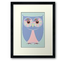 A BLUE OWL Framed Print