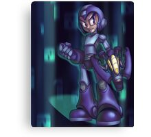 Blue Bomber - background Canvas Print
