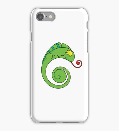 Cute chameleon iPhone Case/Skin