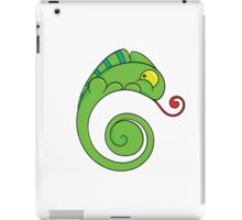 Cute chameleon iPad Case/Skin