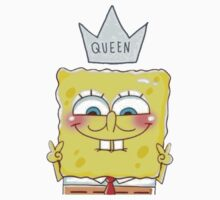 Queen SpongeBob Kids Tee