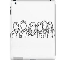 New Girl Outline iPad Case/Skin