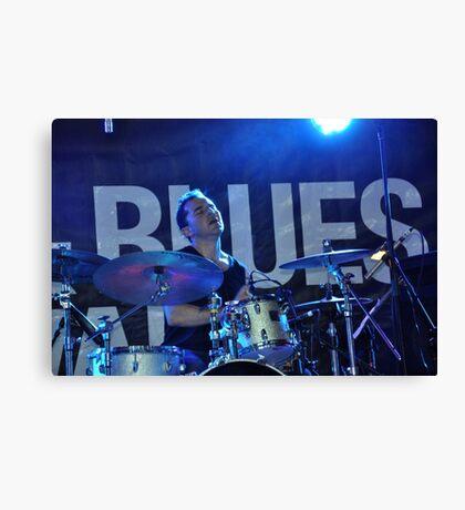 Drummer,Jazz & Blues Festival,Australia 2012   Canvas Print