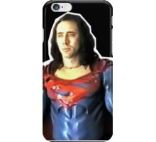 Nic Cage - Superman iPhone Case/Skin