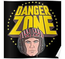 Archer Danger Zone Topgun Head Poster