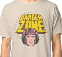 Archer Danger Zone Topgun Head Classic T-Shirt