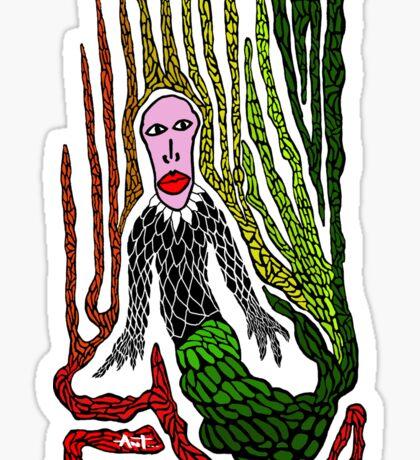 The Genius Birdman Sticker