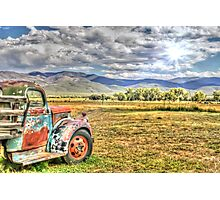Taos Truck Photographic Print