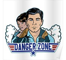 Archer Danger Zone TOPGUN Poster