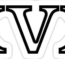 XVX light small Sticker