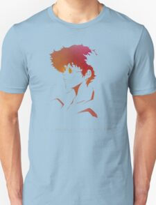 Cowboy Bebop - Spike Spiegel - A Cowboy Never Dies T-Shirt