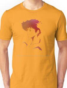 Cowboy Bebop - Spike Spiegel - A Cowboy Never Dies Unisex T-Shirt