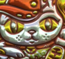 Lucky Cat (Foil) Sticker