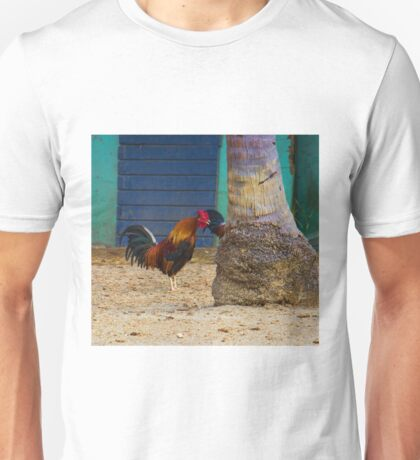 Crowing at a Tree Unisex T-Shirt