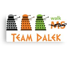 Dalek Parade Walk Canvas Print