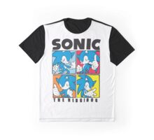 Sonic The Hedgehog 4 in 1 Graphic T-Shirt