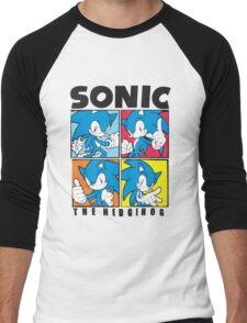 Sonic The Hedgehog 4 in 1 Men's Baseball ¾ T-Shirt