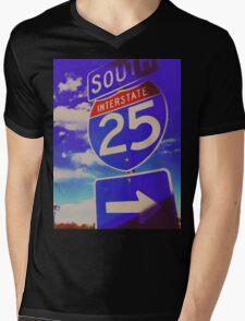 South On 25 Mens V-Neck T-Shirt