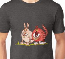 Close encounters of the weird kind: easterbunny's secret life Unisex T-Shirt
