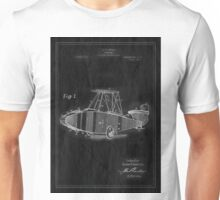 Patent Image - Airplane - Inverted Unisex T-Shirt