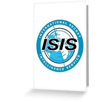 Archer ISIS Danger Zone Logo Greeting Card