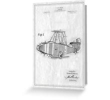 TIR-Airplane - White Greeting Card