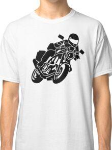 Motorcycle biker Classic T-Shirt