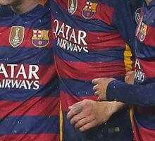 Messi, Suárez and Neymar Sticker
