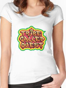 The called quest Women's Fitted Scoop T-Shirt
