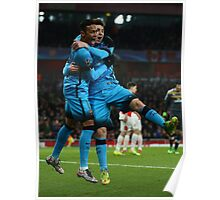 Messi and Neymar Poster