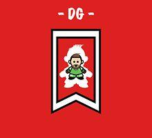 Man United's David de Gea (large logo) Women's Fitted Scoop T-Shirt