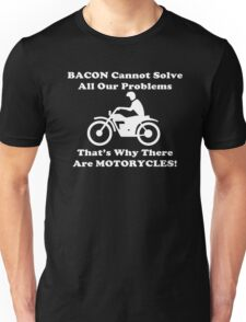 Bacon Motorcycles  Unisex T-Shirt