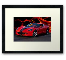 2015 Corvette Coupe Framed Print