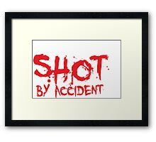 Shot By Accident - Queer People on TV Shows Framed Print