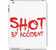 Shot By Accident - Queer People on TV Shows iPad Case/Skin