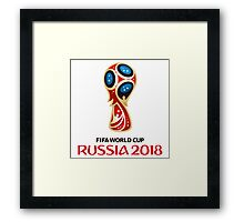 world cup Russia Framed Print