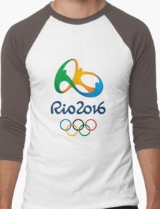 2016 summer olympics Men's Baseball ¾ T-Shirt