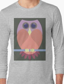 A BLUSHING OWL Long Sleeve T-Shirt