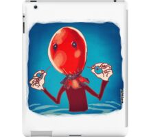 baloon head iPad Case/Skin