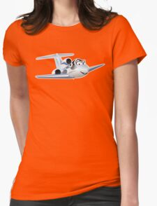 Cartoon Civil utility airplane T-Shirt