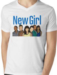 New Girl Mens V-Neck T-Shirt